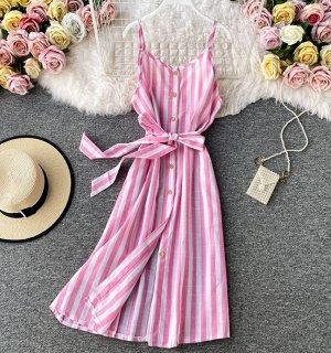 Сарафан,розовый