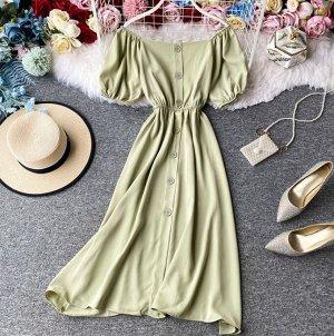 Платье,фисташковый
