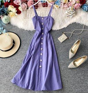 Сарафан, фиолетовый