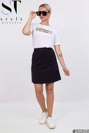 Костюм  62546 (футболка+юбка)