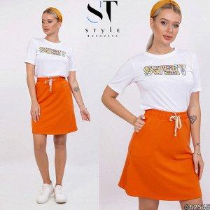 Костюм  62545 (футболка+юбка)