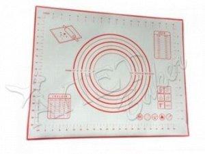 Коврик силиконовый с разметкой 300*400