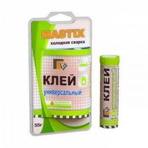"""Холодная сварка """"Mastix"""" универсальная, блистер 55 гр. (1/60)"""