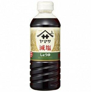 Соевый соус «Ямаса» с пониженным содержанием соли   500 мл. 1/12   /Япония/