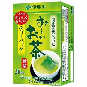 Чай Итоэн зеленый листовой без добавок   (20 пакетиков)  40 гр.1/20  Япония