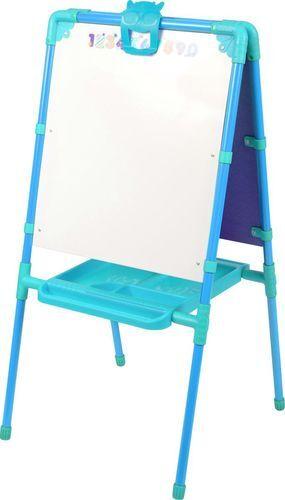 Мольберт для детей двухсторонний  цв. голубой 102*53*47 см