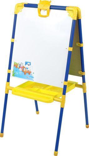 Мольберт для детей двухсторонний  цв. синий  102*53*47 см