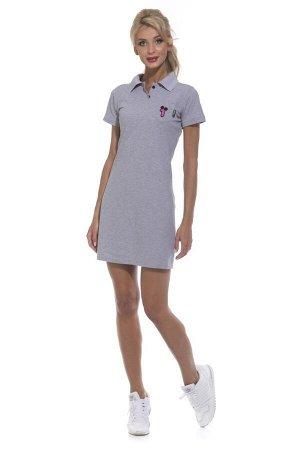 Платье Coquet Цвет: Серый Меланж. Производитель: Peche Monnaie