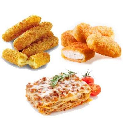 Отменяем поход за продуктами!  — Наггетсы, лазанья и для фритюра — Готовые блюда