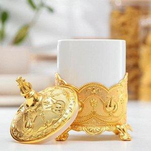 Банка для сыпучих продуктов «Чай, кофе» 400 мл, 11,5?17 см