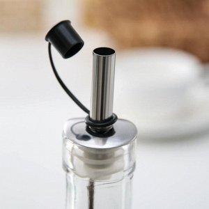 Бутыль для соуса и масла «Узор», 300 мл, цвет МИКС