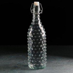 Бутыль для масла «Ризотто», 1 л, 8?8?30 см, с бугельным замком