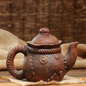 """Чайник и сахарница """"Верёвка"""" средняя, 35см"""