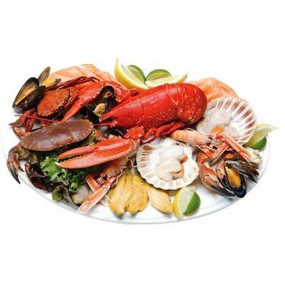 Отменяем поход за продуктами!  — Мидии, креветки, гребешок — Рыба и морепродукты