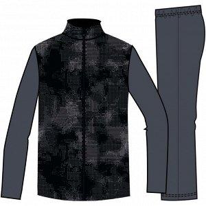 Спортивный костюм утепленный синтетический дышащий S500 для мал. DOMYOS