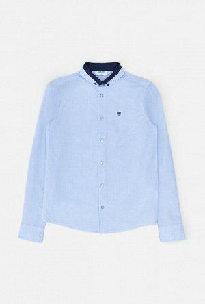 Сорочка верхняя детская для мальчиков Mark голубой