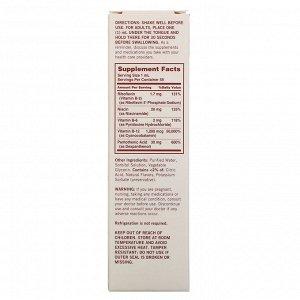 Sundown Naturals, Сублингвальный комплекс витаминов В с витамином В-12, 2 жидкие унции (59 мл)