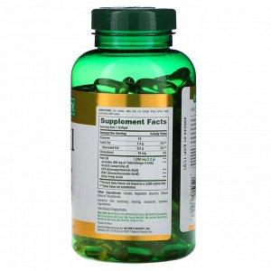 Nature&#x27 - s Bounty, Рыбий жир, 1200 мг, 200 мягких таблеток быстрого высвобождения
