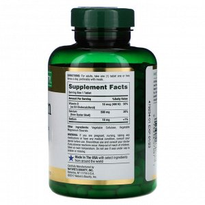 Nature&#x27 - s Bounty, Кальций с витамином D3, 300 таблеток