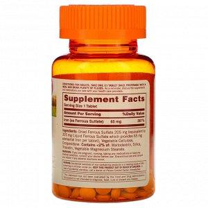 Sundown Naturals, Незаменимое железо, 65 мг, 120 таблеток