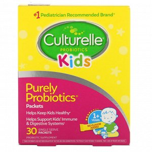 Culturelle, Kids, Purely Probiotics, 30 Single Serve Packets