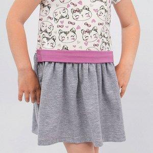 Платье Pink Котята для девочки