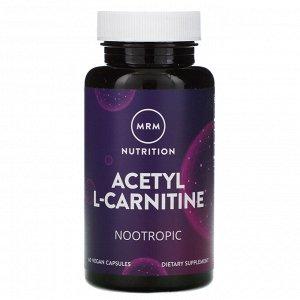 MRM, Nutrition, Acetyl L-Carnitine, 60 Vegan Capsules
