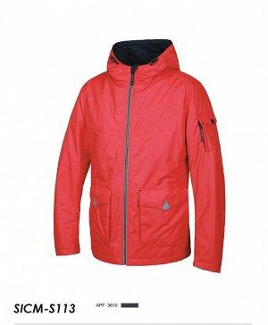 SICM-S113-3610 -Куртка на синт.(т.синий)