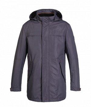 SICM-N358-4488 -Куртка на синтепоне (т.серый)