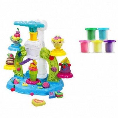 Мир развивающих игрушек - 3! Более 4500 товаров!!! — Наборы пластилина с формами — Для творчества