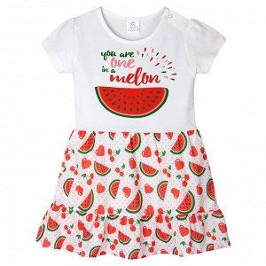 Платье Miss Feriha Melon для девочки