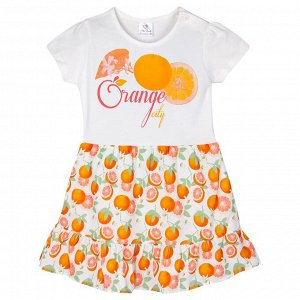 Платье Miss Feriha Orange для девочки