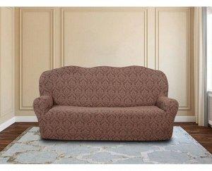 Чехол на диван Avilon Цвет: Серо-Коричневый (Трехместный). Производитель: KARTEKS
