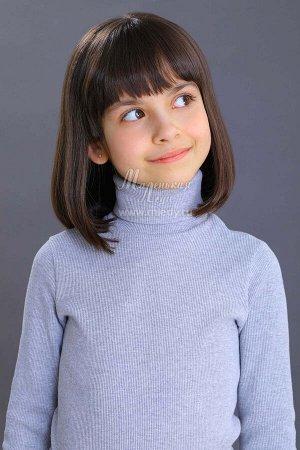 Свитер PLUS SIZE Ткань: Кашкорсе тонкое Состав: 95%хлопок, 5%эластан Классический свитер с длинными рукавами - незаменимая вещь в школьном гардеробе. Модель выполнена из мягкого хлопкового трикотажа