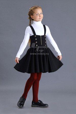 Сарафан,костюм.вискоза, на бретелях,молния по переду,спинка закрыта, пышная юбка  м.Леди