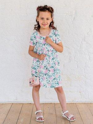 Платье Аленка розочки