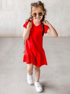 Платье Алиса красное