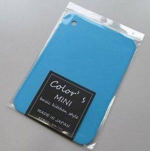 """89054kh Доска разделочная """"Color's mini"""" синяя, 1 шт"""