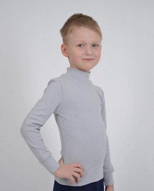 Джемпер д. Джемпер детский 1337, ластик хб 95% лайкра 5%.  Цвет светло серый