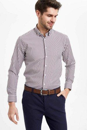 Рубашка в полоску smart Casual