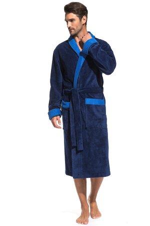 Домашний халат Zack Цвет: Ультрамарин. Производитель: Peche Monnaie