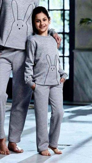 Детская пижама Crispin Цвет: Серый (5-6 лет). Производитель: PENYE MOOD