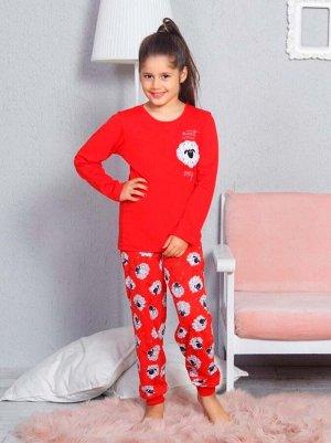 Детская пижама Elissa Цвет Красный.