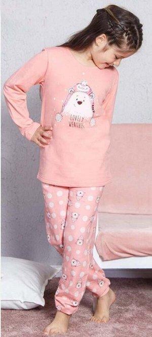 Детская пижама Preva Цвет: Светло-Персиковый. Производитель: VIENETTA SECRET