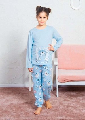 Детская пижама Mimoza Цвет: Бирюзовый. Производитель: VIENETTA SECRET