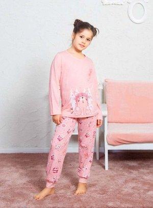 Детская пижама Mimoza Цвет Светло-Персиковый.