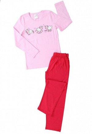 Детская пижама Odelette Цвет: Розовый. Производитель: VIENETTA SECRET
