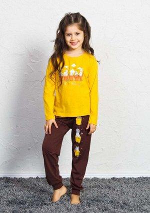 Детская пижама Tiger Цвет: Желтый. Производитель: VIENETTA SECRET