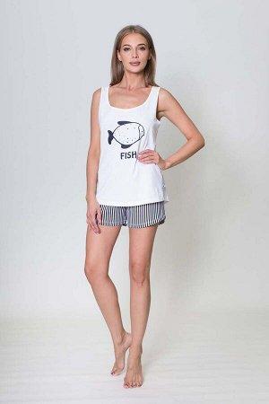 Пижама Jackson Цвет: Белый. Производитель: VIENETTA SECRET