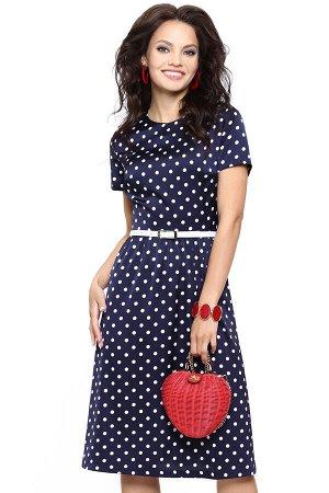 Платье Красотка, глянец, с ремешком